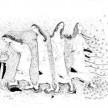 ketika ibu ulang tahun (2006), A4, ink on paper