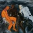 Black Coffee, 138 x 138cm, Oil on Canvas, 2010