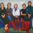 The Red Shoes, 130 x 200cm, Oil on Canvas, 2012