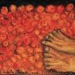 Petani Tomat 2015, 10 x 12cm, oil on canvas, dikoleksi imago mundi italia