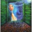 Gadis Bulan (2006) 70 x 90 cm, Oil on Canvas. Terkoleksi