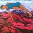 negeri jambu bol 2017, 150 x 150 cm, oil on canvas