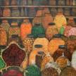 Indonesia Renyah, 130 x 130cm, oil on canvas, 2015 (terkoleksi)