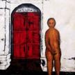 Red Door 2, 135 x 135 cm, Oil & Acrylic on Canvas, 2012