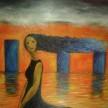 November Rain, 100 x 100 cm, Oil on Canvas, 2008