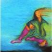 Apatis - i don't care (2008) 100 x 100 cm, Oil on Canvas  (terkoleksi)