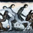 Gugur Seribu Tumbuh Satu, 150 x 280cm, Oil on Canvas, 2010