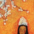 Karena Sakura, Oil On Canvas. (Sold)