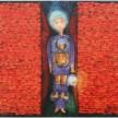Lelaki Lain, 100 x 100 cm, Oil on Canvas, 2006