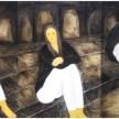 41 Saga,  90 x 130cm (3 panel), Oil on Canvas, 2012